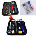 1Set Watch Link Opener Repair Remover Holder Tool Kit Pin Screwdriver & Case Bag