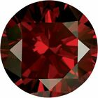 Natural Extra Fine Deep Vivid Red Diamond - Round - VS2-SI1 - Africa - Extra Fin