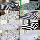 Big List Of All Sizes 100% Egyptian Cotton Printed Duvet Cover Sets Bedding Sets image