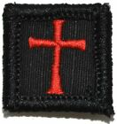 Knights Templar - 1x1 Patch