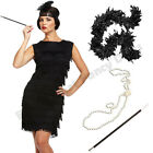 LADIES FLAPPER CHARLESTON FANCY DRESS COSTUME 1920S 20S HEN NIGHT PARTY