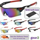Sport Sunglasses Cycling Running Golf Biking Riding Bike NEW from UK stock