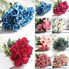 Silk Rose Centerpiece Bridal Wedding Party Flowers Floral Decor Home Craft COOL