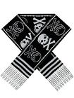 Sourpuss Skulls Black & White Scarf 160x20cm