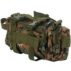 Canvas Hiking Travel Waist Bag Military Tactical Backpack Rucksack 3L
