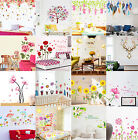 Girl Flower Removable Wall Art Sticker Vinyl Decal DIY Room Home Mural Decor COL