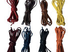 Thin Waxed Shoelaces 70cm Long For Mens Coloured Sole Shoes, Smart Shoes Brogues