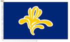 Belgium Brussels Capital Region 1991 to 2015 Roped & Toggled 5' x 3' Boat Flag