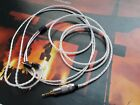 TRRS 2.5mm OCC Silver Plated UE900 SHURE SE425 SE535 Cable ITEM083