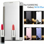 Luxury Mirror View Clear Case Slim Full Cover for Samsung SAM Galaxy S8/S8 Plus