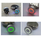 Blue/Red/Green/Yellow 10mm Cap CIRCLE 12V 50mA Momentary Tact Push Button Switch