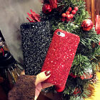 Bling Glitter Shockproof Hard Phone Case Back Cover For iPhone 5/5SE 6/6S 7Plus
