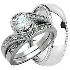 ROUND CUT VVS1 1.07 CT DIAMOND SOLITAIRE ENGAGEMENT WEDDING RING10KT WHITE GOLD