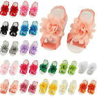 COOL Newborn Baby Girl Infant Headband Foot Flower Elastic Hair Band Accessories