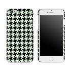 Houndstooth Black & White Pattern Printed Matte Case Review and Comparison