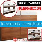 Shoe Cabinet Storage Rack Organiser Shelf Cupboard Chest Drawers 24 Pairs Shoes
