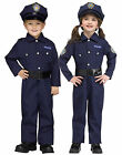 Navy Blue On Patrol Police Uniform Toddler Halloween Costume
