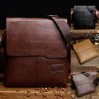 Kyпить Men Leather Shoulder Bag Business Handbag Messenger Bags Crossbody Bag Briefcase на еВаy.соm