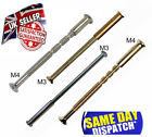 M3 M4 BOLTS CONNECTING SCREWS & SLEEVES FOR HANDLES ROSES KNOBS & ESCUTCHEONS &
