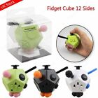 Fidget Cube Latest Version 2018 Design 12-Sided Stress Relief Cube ADHD Toy