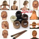 FASHION WOMEN TWIST HAIR BUN MAKER DONUT STYLING BRAID HOLDER ACCESSORY FAST PIN