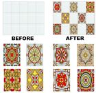 """Mosaic Stickers Transfers for 150mm x 200mm / 6"""" x 8"""" Inch Kitchen Tiles etc C12"""