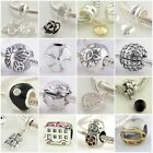 Authentic Solid 925 Sterling Silver Charms K fit European Bead Charm Bracelets