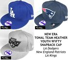 NEW ERA MLB/NFL/NHL TONAL TEAM HEATHER YOUTH 9FIFTY SNAPBACK CAP - VARIOUS