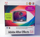 NEW SEALED Vintage Adobe After Effects 3.1 Full Version Software for Windows PC