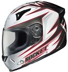 Joe Rocket White/Black/Red R1000X Lithium Motorcycle Helmet Full Face MC-10