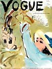 Vogue April 1936 Vintage Artwork Poster Print Fashion Cover - 4 sizes available