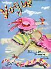 Vogue June 1939 Vintage Artwork Poster Fashion  Cover - 4 sizes available