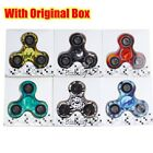 Camouflage Tri-Fidget Hand Finger Spinner EDC Focus Toy Stress Reliever ADHD Hot