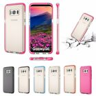Soft Impact Clear Back Shockproof TPU Case Cover For Samsung Galaxy S8/S8 Plus
