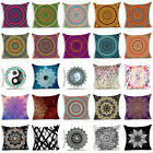Bohemian Mandala Polyester Pillow Case Cover Sofa Waist Cushion Cover Home Decor