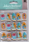 Jolee's SUMMER themed embellishment stickers~BNIP~CUTE! Quick Ship! BEACH/CAMP