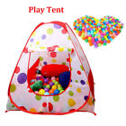 Kid Child Ball Pit Pool Play Tent For Baby Indoor Outdoor Game Toy Enjoy Funny