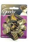 GOODY CLASSICS LARGE OCTAGON CLAW HAIR CLIPS - 1 PC. (07015)