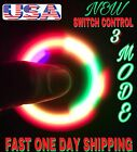 SWITCH CONTROL LED SPINNER FIDGET,3 MODES FLASHING LIGHTING COLORS.LOT,WHOLESALE