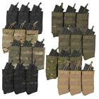 Fields Airsoft Triple Open Top QR AK Molle Magazine Pouch 6mm bb's Army Style