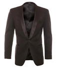 New Mens Black Snake Skin Tuxedo Slim Fit Tuxxman Wedding Prom Jacket Formal Tux
