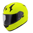 Scorpion Adult Neon Yellow EXO-R410 Solid Sport Full Face Motorcycle Helmet