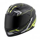 Scorpion Adult Hi-Viz Neon Yellow/Black EXO-R710 Transect Race Motorcycle Helmet