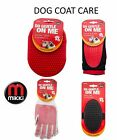 MIKKI PROFESSIONAL DOG PUPPY CAT COAT CARE GENTLE GROOMING GLOVE MITT PAD RML
