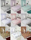 Modern Stylish Luxury Duvet Cover Sets Curtains Single Double King Super King