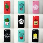 Cute Plant Cartoon Soft Silicone Case Cover Back Fit For Iphone Case 5/5s /SE