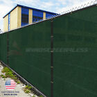 Customize 5' FT Privacy Fence Screen Green Commercial Windscreen Shade 161-320
