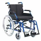 XS Lightweight Aluminium Folding Wheelchair Self Propelled 18 or 20 inch Seat