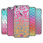 HEAD CASE DESIGNS COLOURFUL SCALES HARD BACK CASE FOR APPLE iPHONE PHONES