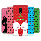 HEAD CASE DESIGNS CHRISTMAS CATS HARD BACK CASE FOR NOKIA 6